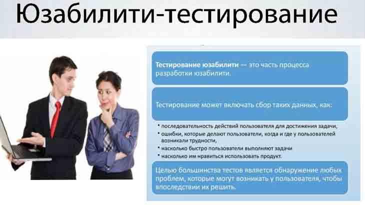 Юзабилити-тестирование сайта