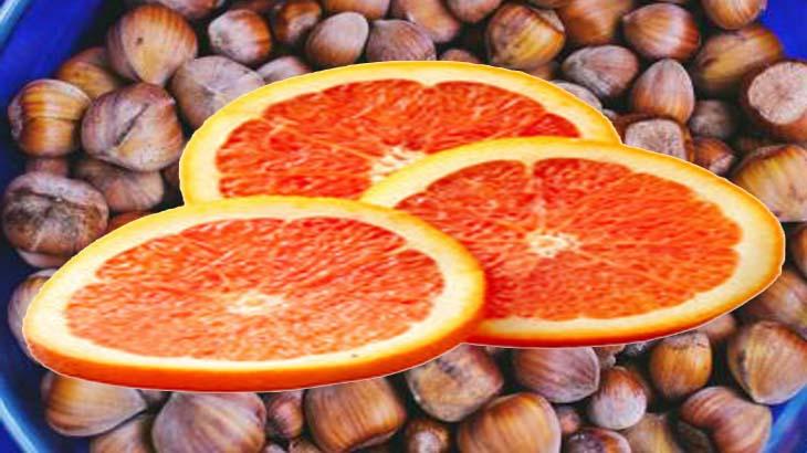 Апельсины и орехи